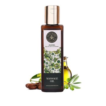LUXURIATE | LUXURIATE 100% Pure Natural Jojoba for Hair, Body, Skin Care, Massage and Aroma Therapy,100 ml