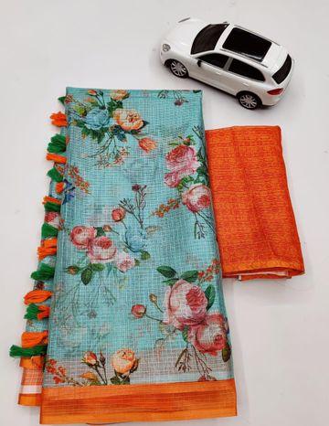SATIMA   Satima Supar kota printed saree