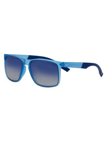 ENRICO | ENRICO Mojo Jojo UV Protected & Polarized Unisex Wayfarer Sunglasses ( Lens - Blue | Frame - Blue)