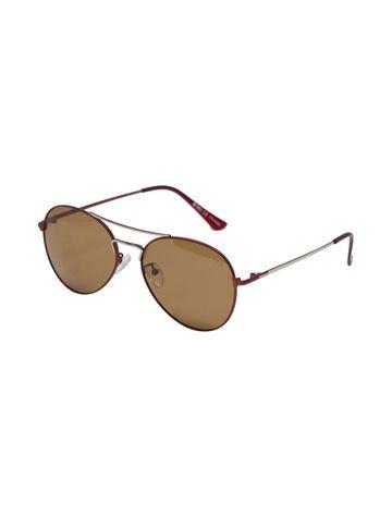 ENRICO | ENRICO Virgo UV Protected & Polarized Unisex Sunglasses ( Lens - Brown | Frame - Brown)