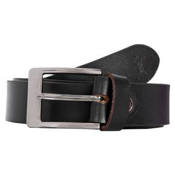 CREATURE | CREATURE Formal/Casual Black Color Genuine Leather Black (35 MM) Belt for Men