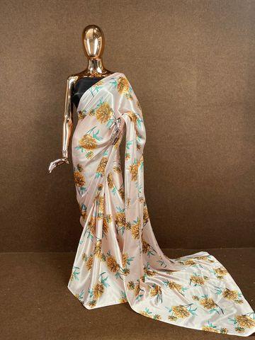 SATIMA   Satin Printed Saree