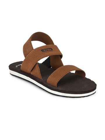Hirolas | Hirolas  Trendy Flip-Flops Elasticated comfortable Slippers - Tan