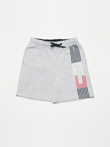OCTAVE   Boys GREY MELANGE Shorts