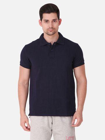 Lotto   Lotto Men's Polo Basic PC PR Navy Blue T-Shirt