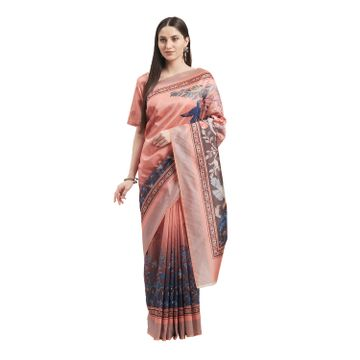 SATIMA |  MultiSilk BlendFloral Print With Tassels