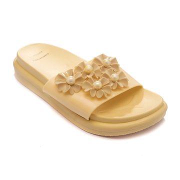 Trends & Trades | TRENDS & TRADES  Slide Sandal For Women