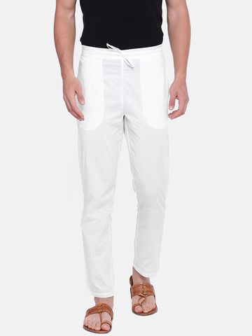 Ethnicity | White Cotton pyjama