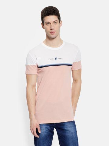 OCTAVE | Men DUSTY PINK T-Shirts