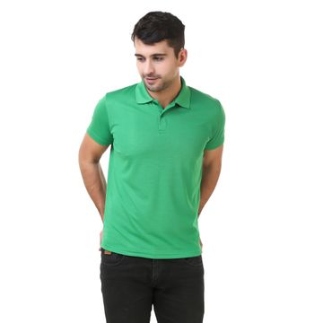 Lotto | Lotto Men's Polo Basic Parrot Green T-Shirt