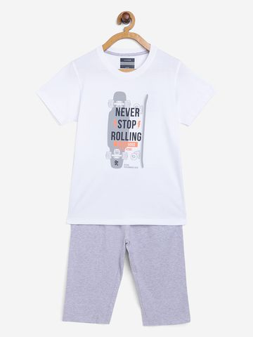 OCTAVE   Boys WHITE Nightsuits