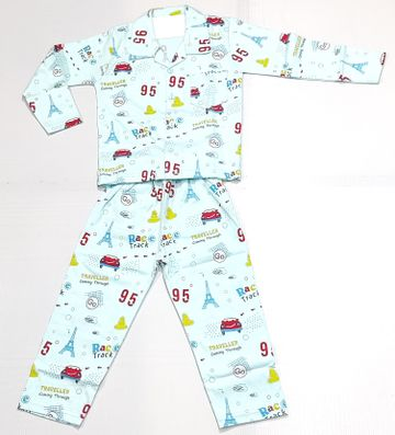 AAAKAR | Stylish Travel Printed Full Sleeve Top and Pyjama Set