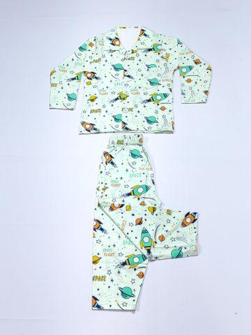 AAAKAR | Stylish Boy's Stylish Graphic Printed Shirt And Pyjama Set
