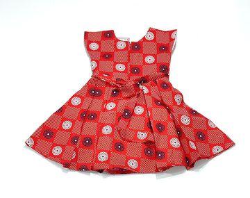 AAAKAR | AAAKAR Girl's Printed Cotton Dress
