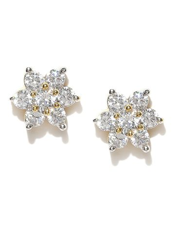 AADY AUSTIN | Aady Austin Star Shaped Gold studs Earring