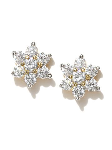 AADY AUSTIN | Aady Austin Star Shaped White studs Earring
