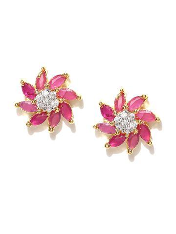 AADY AUSTIN | Aady Austin  Spiral flower Pink tops