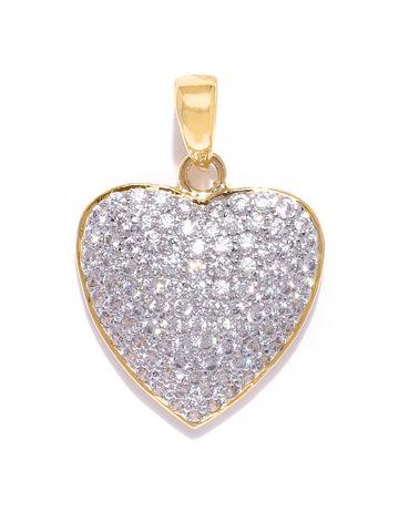 AADY AUSTIN | Aady Austin Women's Golden Heart Pendent