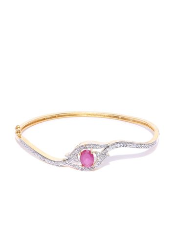 AADY AUSTIN | Aady Austin Pink Floral Bracelet