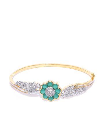 AADY AUSTIN | Aady Austin Green Floral Bracelet