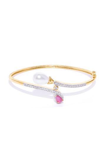 AADY AUSTIN   Aady Austin Pink Pearl Bracelet