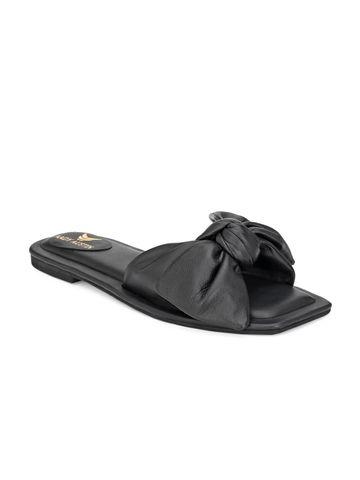 AADY AUSTIN | Aady Austin Women's Trendy Black Square Toe Flats
