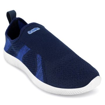 Action | Action  Men Synthetic Mesh Sports Running Shoes (Navy R Blue)