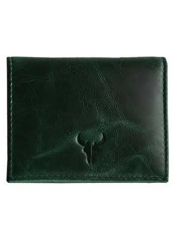Napa Hide | Napa Hide RFID Protected Genuine High Quality Leather Green Wallet for Men