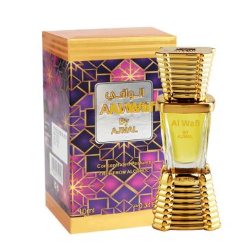 Ajmal | Ajmal Al-Wafi Concentrated Perfume Oil 10ml Attar for Men & Women + 2 Parfum Testers