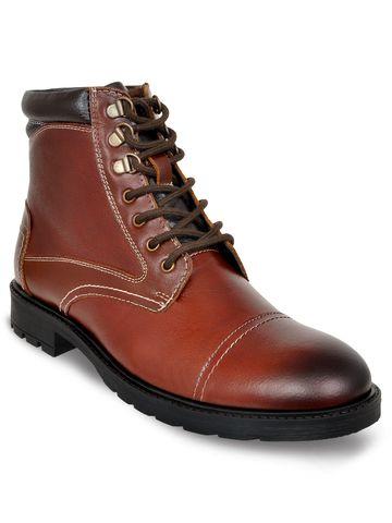 Allen Cooper | Allen Cooper Darkbrown Boots For Men