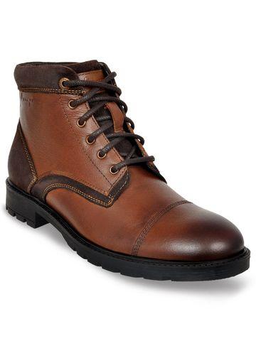 Allen Cooper | Allen Cooper Brown Boots For Men