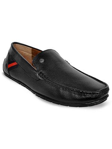 Allen Cooper | Allen Cooper Black Loafers For Men
