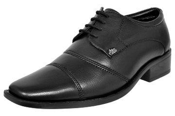 Allen Cooper | Allen Cooper Black Formal Shoes For Men