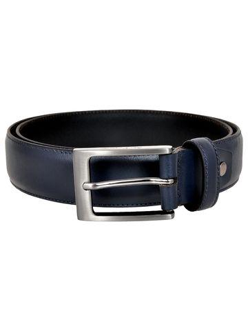 Allen Cooper | Allen Cooper Blue Leather Belts For Men