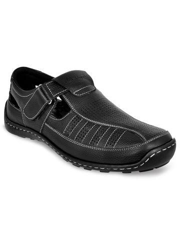 Allen Cooper | Allen Cooper Leather Roman Sandals For Men