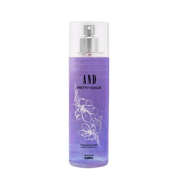 AND Crafted By Ajmal | AND Pretty Vogue Body Mist 200ML for Women Crafted by Ajmal