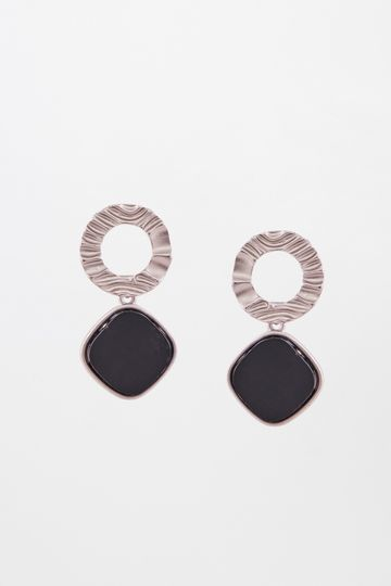 AND | Black Earrings