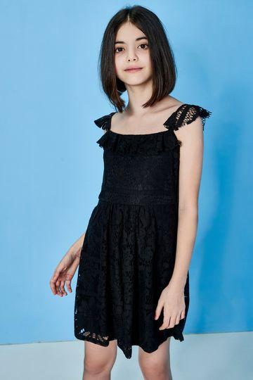 AND | BLACK DRESS