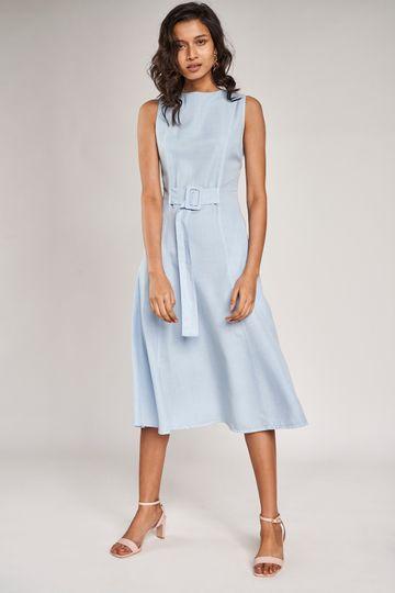 AND | Powder Blue Dress