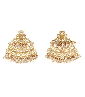 ZARIIN | Dreamy Frills Earrings