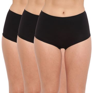 BASIICS by La Intimo | Hanky Panky Boyshort Brief Black (Pack of 3)