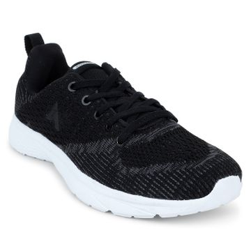 ATHLEO by Action | ATHLEO by Action Fabric Women Sports Running Shoes (Black)