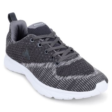 ATHLEO by Action | ATHLEO by Action Fabric Women Sports Running Shoes (Dark Grey)