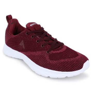 ATHLEO by Action | ATHLEO by Action Fabric Women Sports Running Shoes (Maroon)