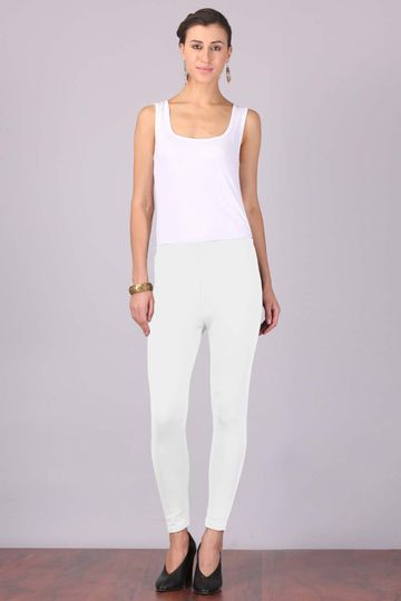 Aurelia   Aurelia Women White Color Tights