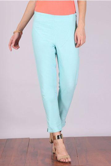 Aurelia | Aurelia Women Blue Color Trouser
