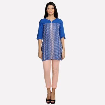 Aurelia | Aurelia Women Blue Color Kurti