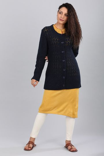 Aurelia | Aurelia Women Blue Color Sweater