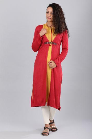 Aurelia | Aurelia Women Red Color Sweater