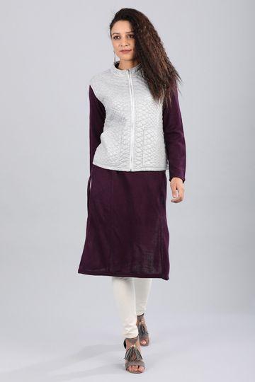 Aurelia | Aurelia Women Grey Color Jacket